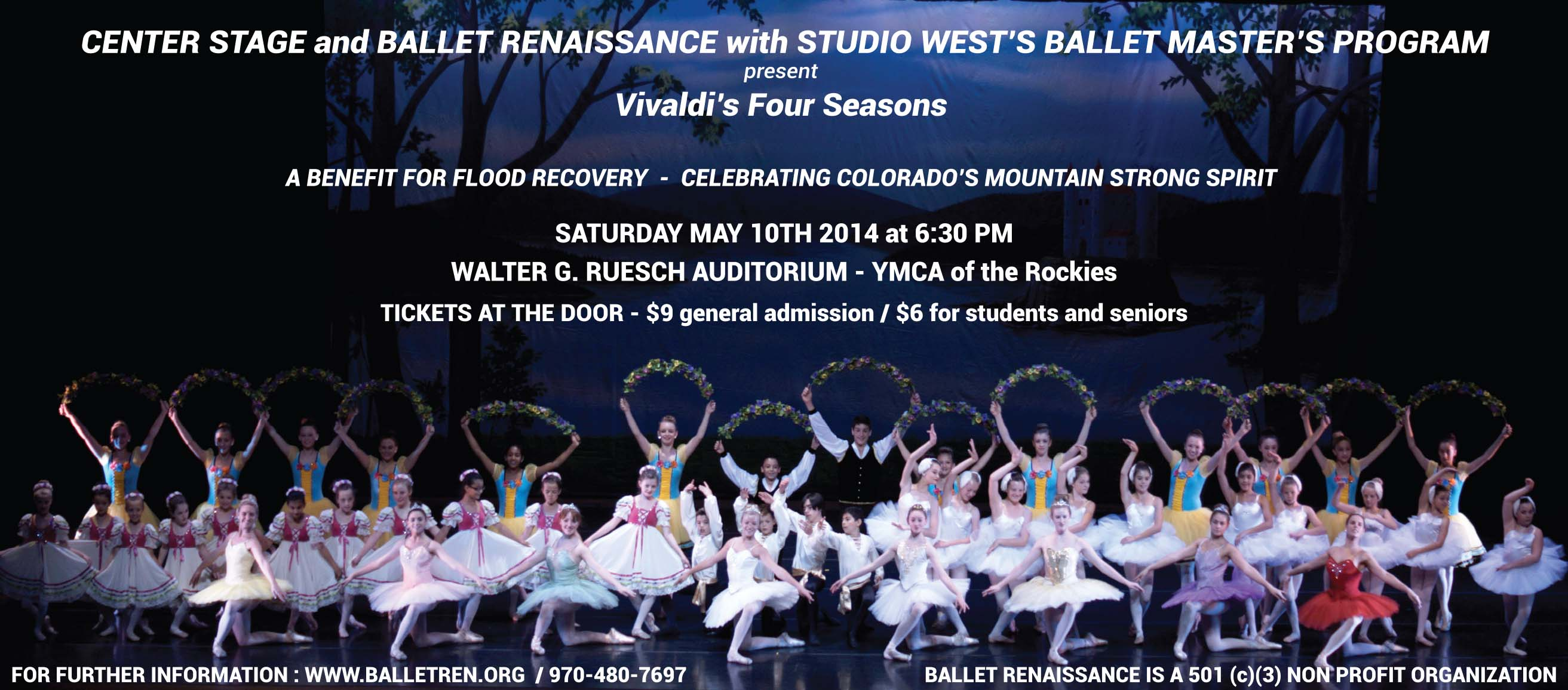 Ballet Masters students present Vivaldi's Four Seasons